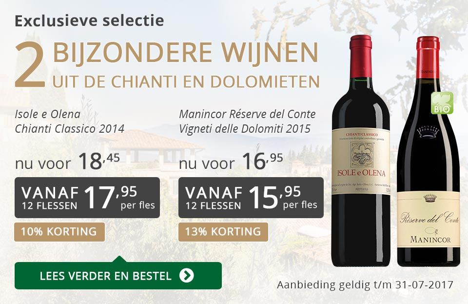 Exclusieve wijnen juli 2017 - grijs/goud