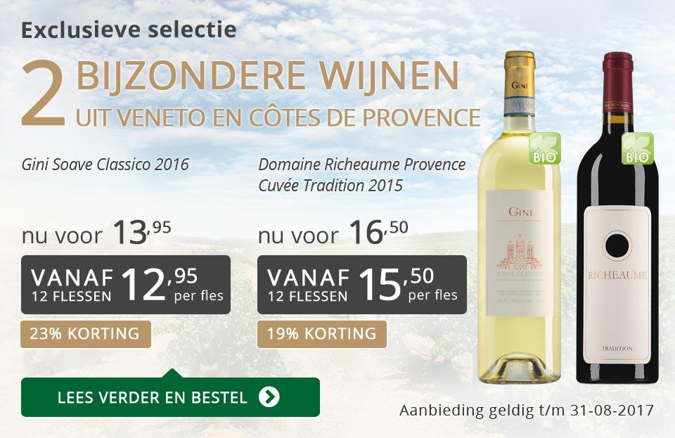 Exclusieve wijnen augustus 2017 - grijs/goud