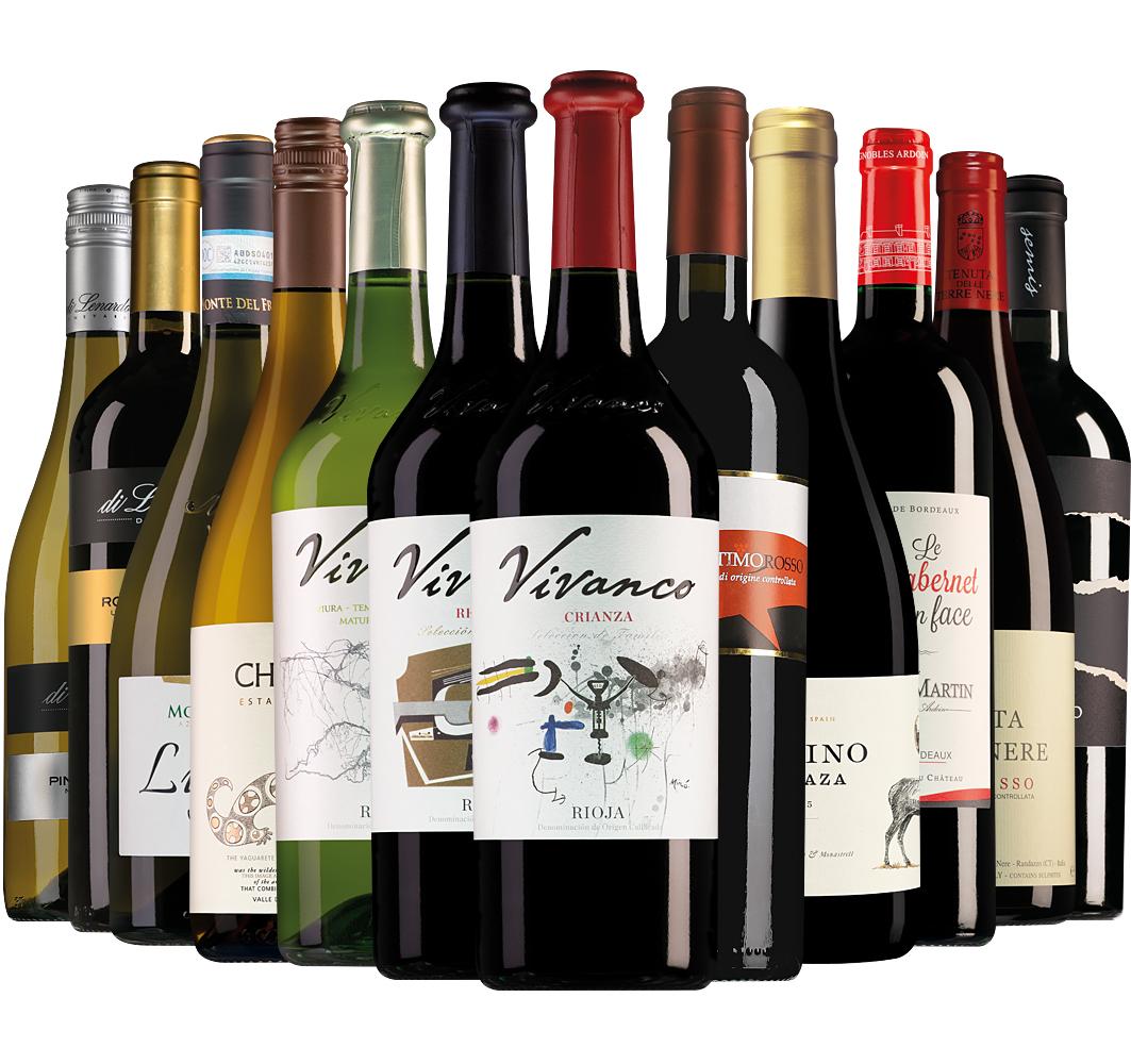 Proefpakket Wijnbericht november (12 flessen)